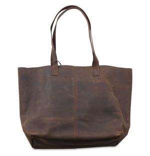 Masambe Leather Shopper Rustic Brown