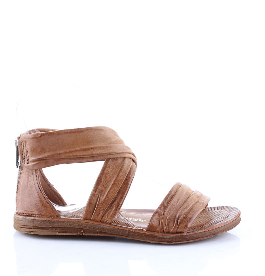 A.S.98 Malibu Cumin Leather Sandals 557013