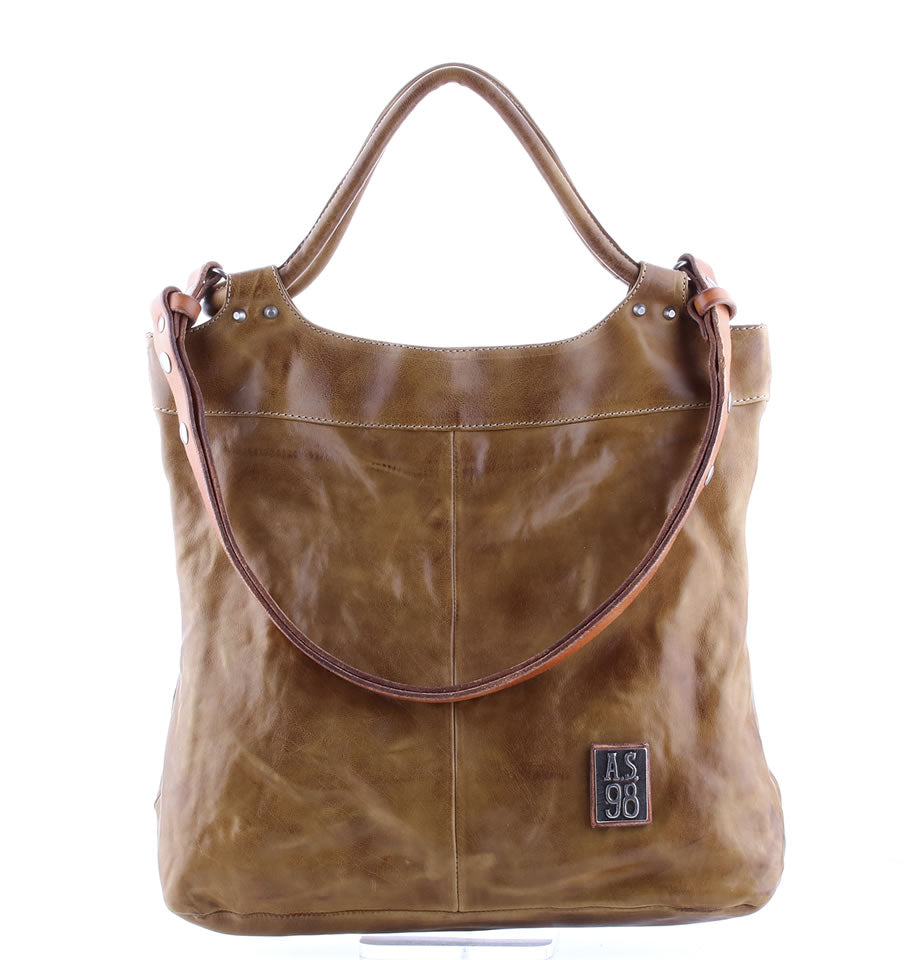 A.S.98 Leather Bag 200458 Cumin