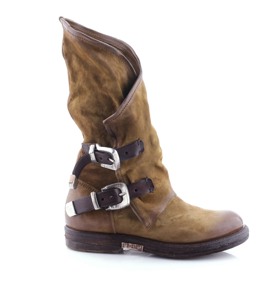 A.S.98 Boots - Senape and TDM Cowboy Boot 227309