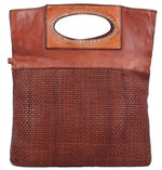 Campomaggi - Pochette Dark Brown Leather Bag - C008770ND