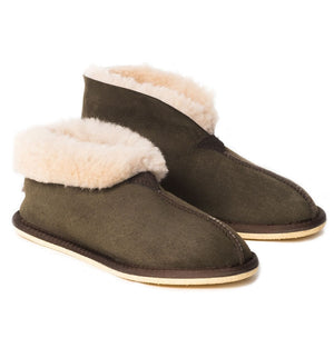 Celtic & Co.  Sheepskin Boots - Bootee Slippers Moorland