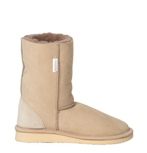 Celtic & Co. Sheepskin Boots - House Boots Regular Oatmeal