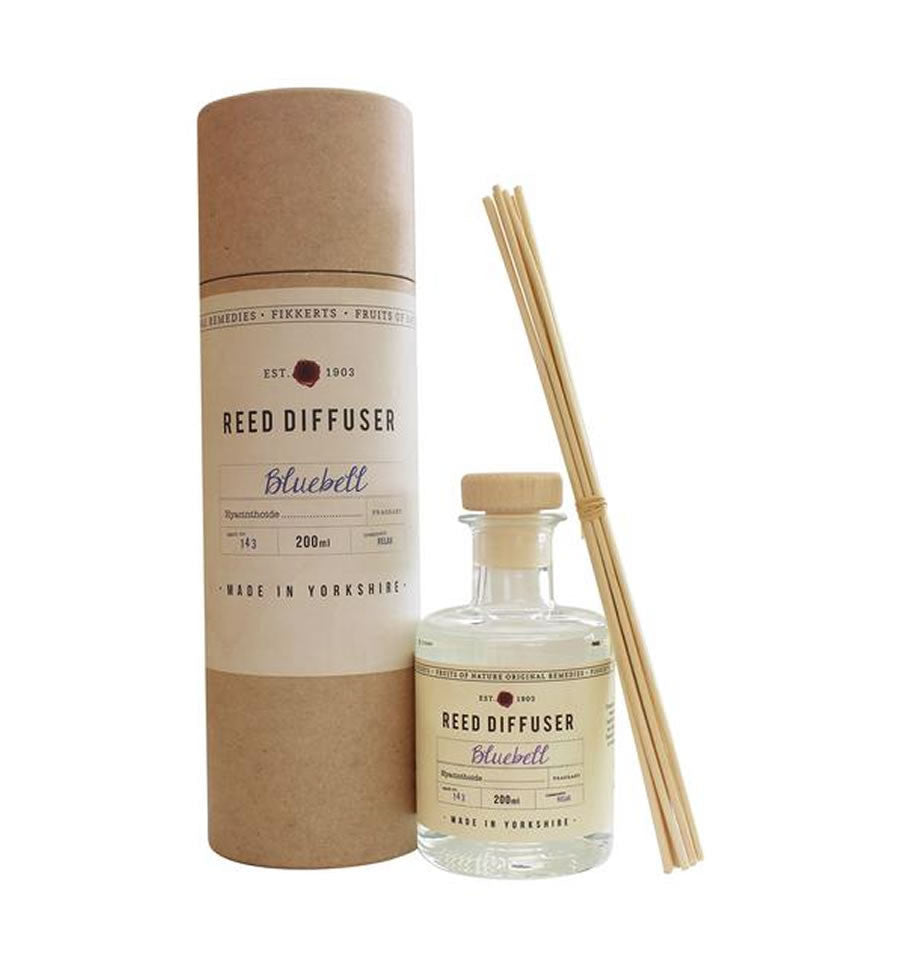 Fikkerts Bluebell Reed Diffuser 200ml
