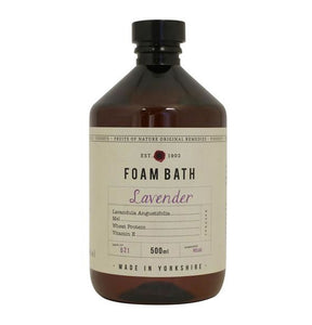 Fikkerts Bath Foam 500ml available in Lavender, Rose and Bluebell