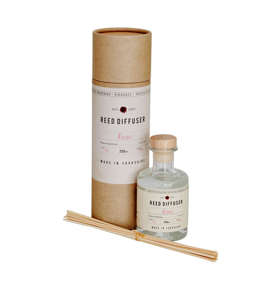 Fikkerts Rose Reed Diffuser 200ml
