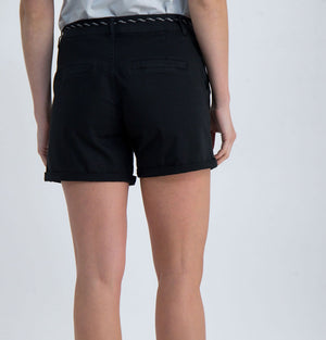 Cotton Shorts Black