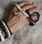 Black Bone Bracelet 4mm