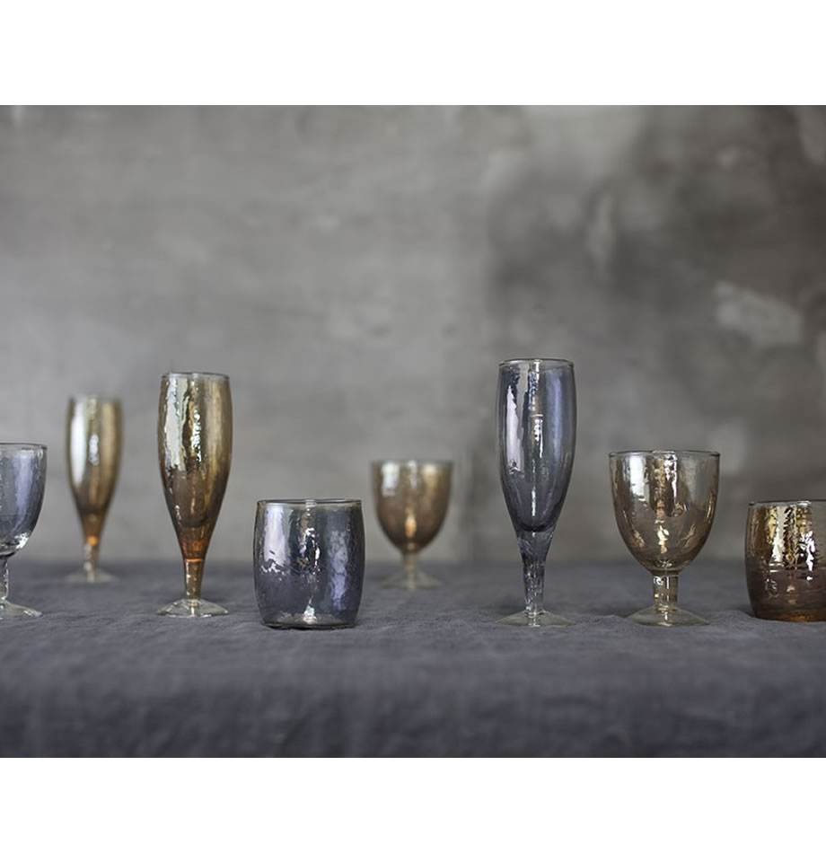 Nkuku Ozari Wine Glass Copper