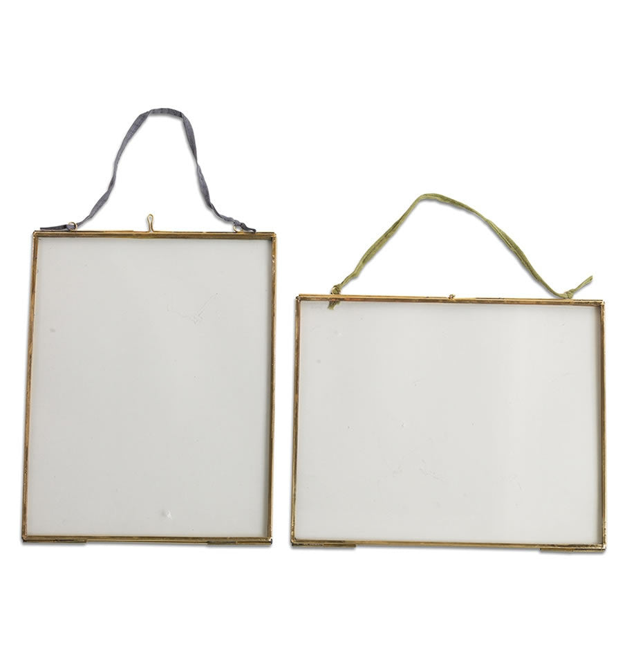 Nkuku Kiko Brass Frames Various Sizes