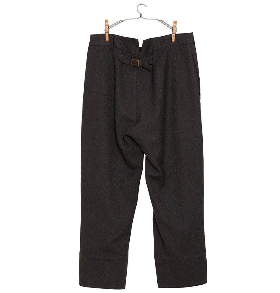 Wool Trousers Brown