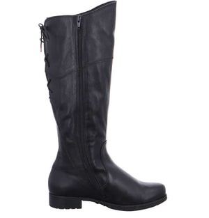 Think Shoes Denk Black Calf Boot