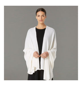 Classic Chalk Cashmere Travelwrap