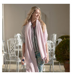 Classic Cherry Blossom Cashmere Travelwrap