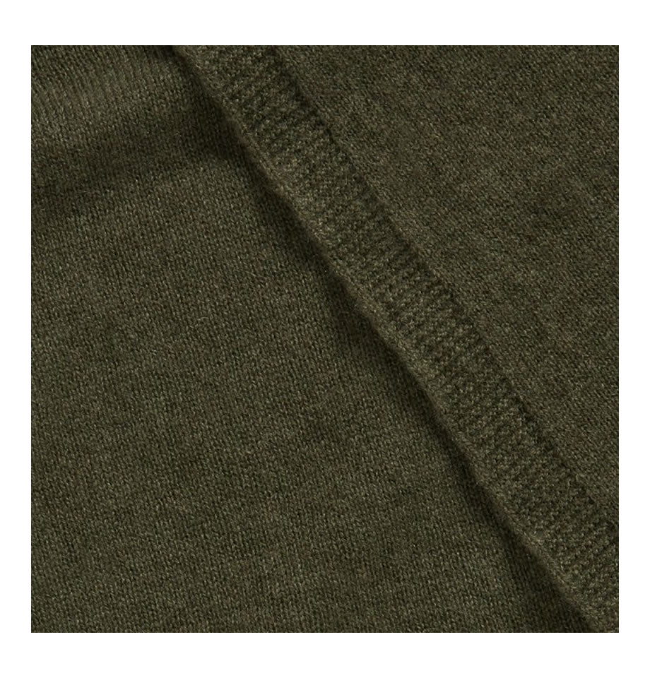 Classic Loden Green Cashmere Travelwrap