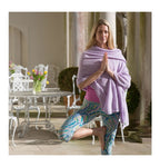 Classic Sweet Violet Cashmere Travelwrap