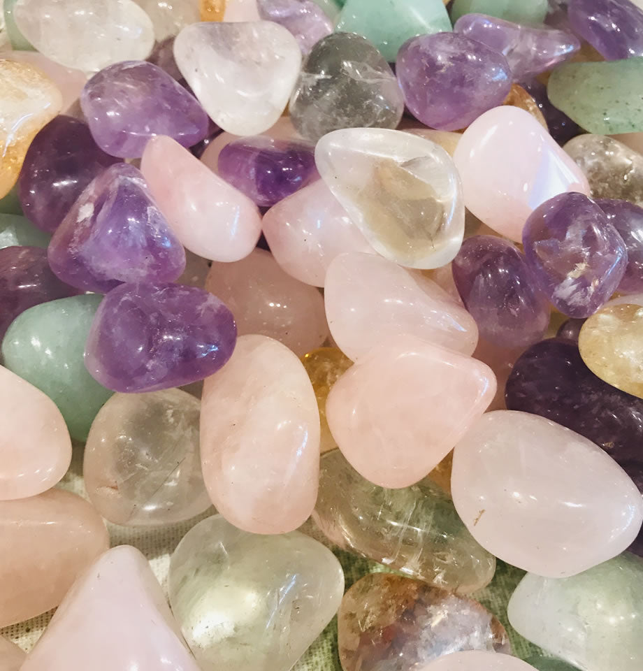 Rose Quartz Healing Crystal Tumble-stones