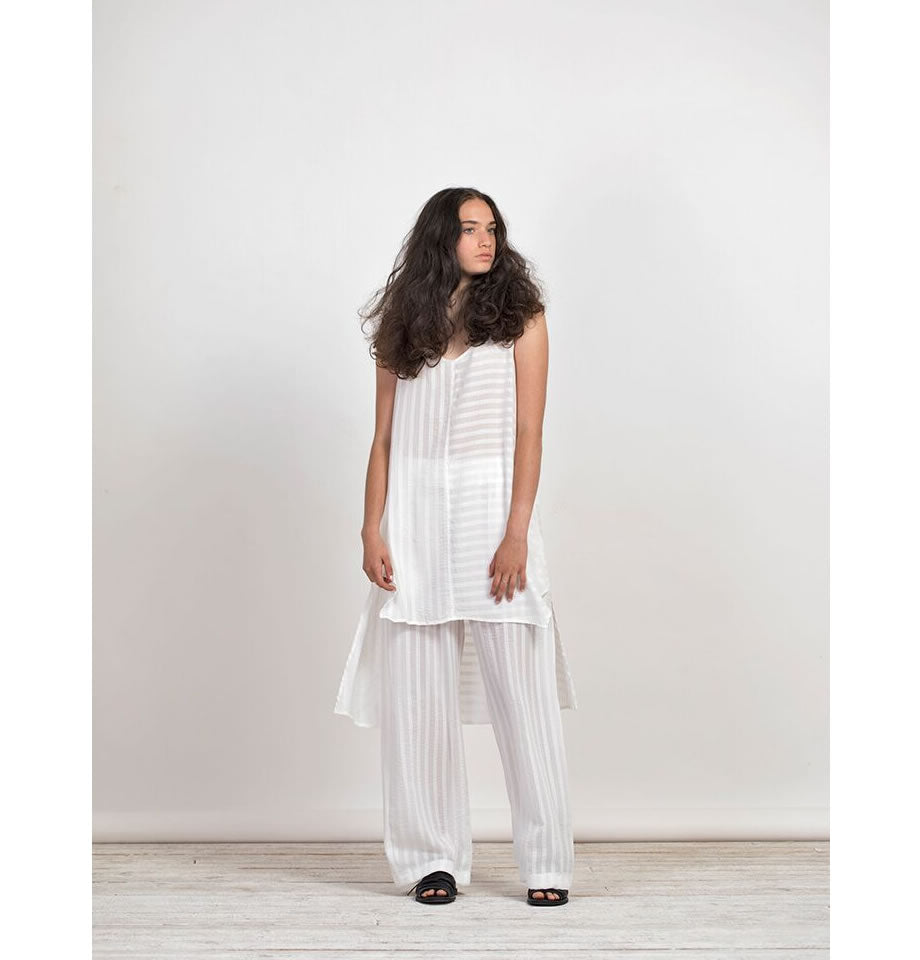Gershon Bram Maple White Stripes Gideon Tunic