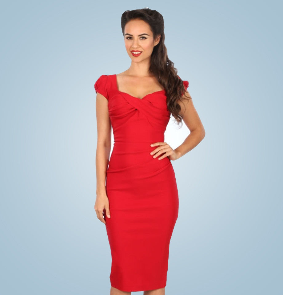 Stop Staring Billion Dollar Baby Dress Red