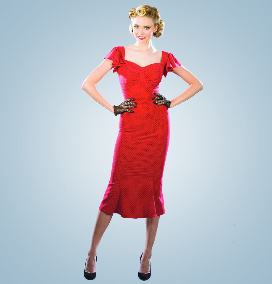 Stop Staring Tulsa Dress Red
