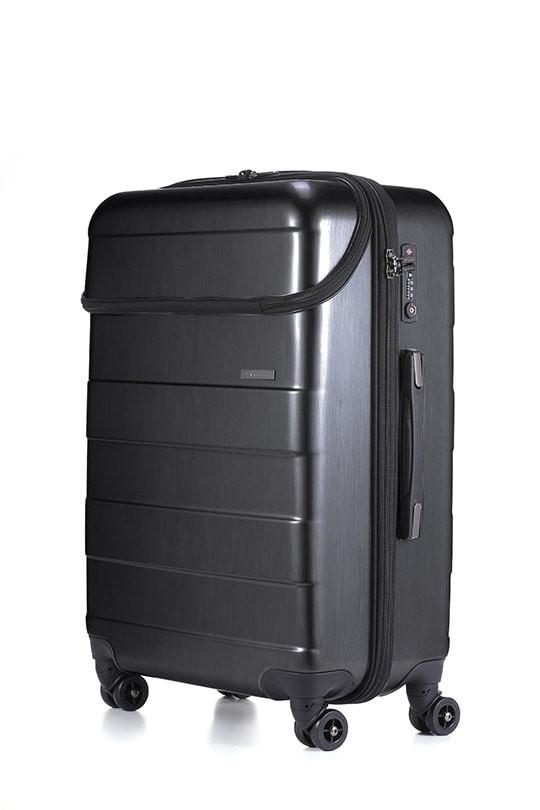 LE MAURICE & CO. LYON Suitcase Medium 68 cm Brushed Charcoal Šü_Œ_܌¥_ŒÉä?â_?µ_??¡