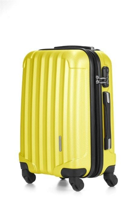 LE MAURICE TRANSFORM EXPANDABLE Suitcase Cabin 55 cm Matte Yellow Bee ¾ä????£¬?ÊâŒ_¤ŽÈďÏâ