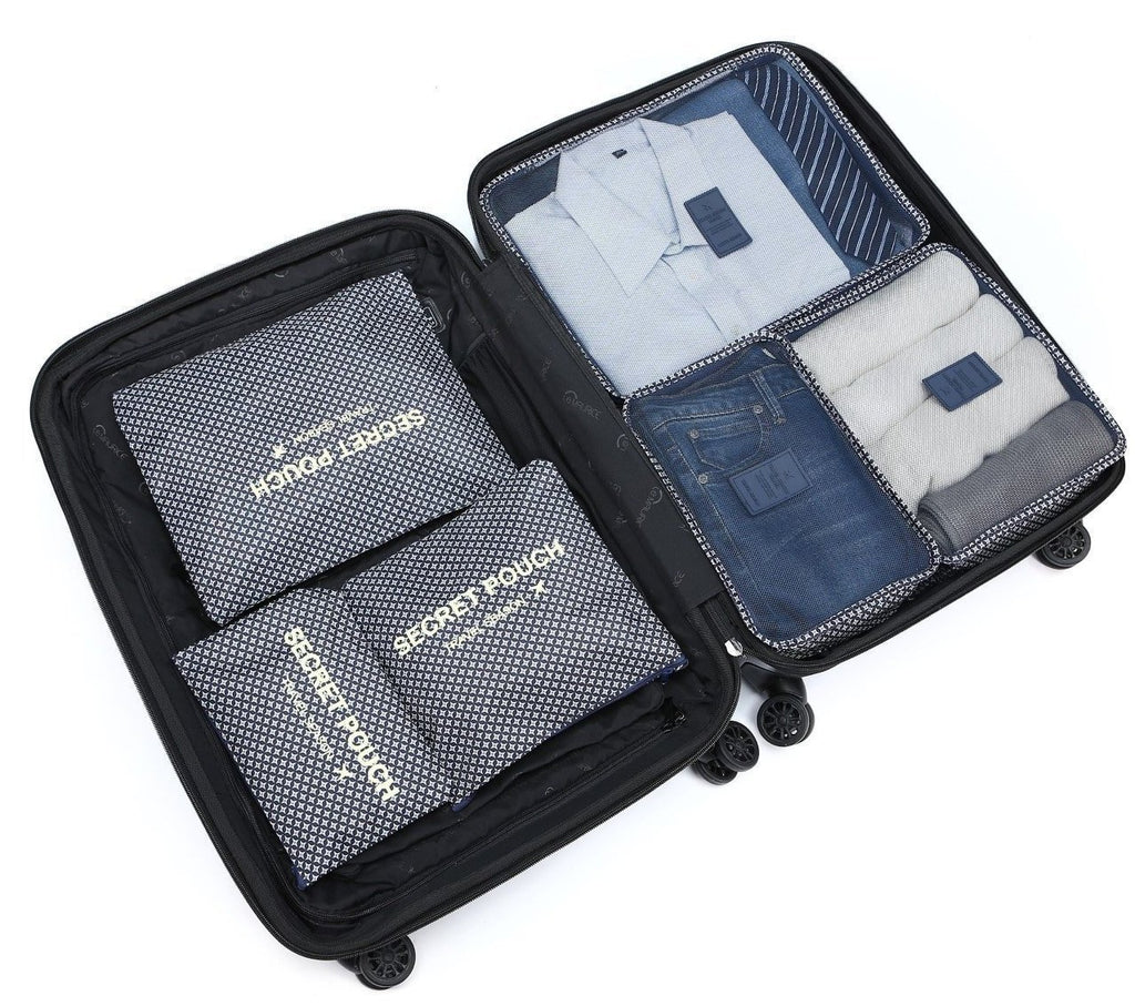 LM TRAVEL SEASON Goodies 6-In-1 Organizer Navystar 6Œ?ö1¾Ӧ?«??¢Ü