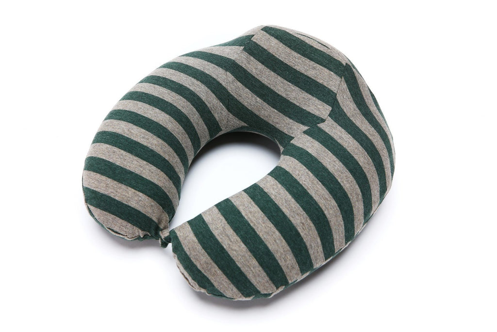 LM TRAVEL SEASON Memory Foam Travel Pillow Green Stripe ?¬÷¾ ¦¾£ä¾Ñ?ÁΎÊü¾_¥ ?¦ʏä_