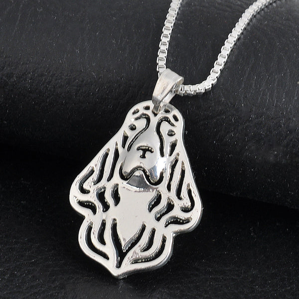 Cocker Spaniel Pendant Necklace - Thelovingessence.co.uk