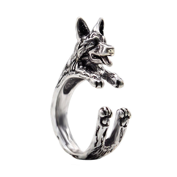 German Shepherd Puppy Ring - Thelovingessence.co.uk