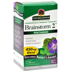 Nature's Answer Brainstorm - 90 Vcaps