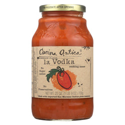Cucina Antica La Vodka Cooking Sauce - Case Of 12 - 25 Oz.