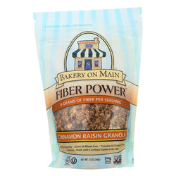 Bakery On Main Cinnamon Raisin Fiber Granola - Case Of 6 - 12 Oz.