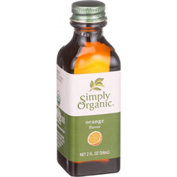 Simply Organic Orange Flavor - Organic - 2 Oz