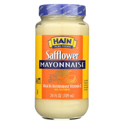 Hain Mayonnaise - Safflower - Case Of 12 - 24 Oz.