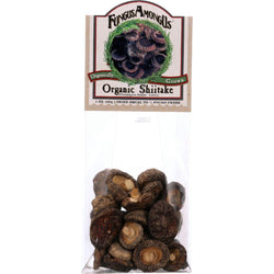 Fungus Among Us Mushrooms - Organic - Dried - Shiitake - 1 Oz - Case Of 8