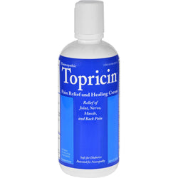 Topricin Anti-inflammatory Pain Relief And Healing Cream - 8 Oz