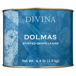 Divina Dolmas Stuffed Grape Leaves - Case Of 6 - 4.4