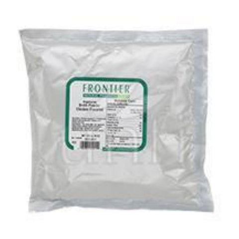 Frontier Herb Broth Powder - Chicken Flavored - Bulk - 1 Lb