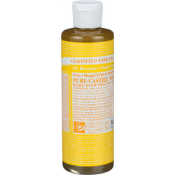 Organic Citrus Castile Liquid Soap