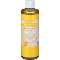 Organic Castile Liquid Soap; Citrus