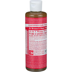 Organic Rose Castile Liquid Soap