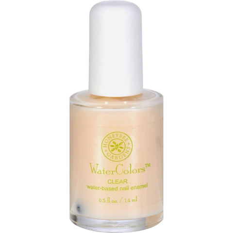 Honeybee Gardens Nail Enamel Clear Water Base - 0.5 Fl Oz