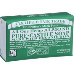 Bar Soap; Almond