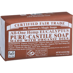 Bar Soap; Eucalyptus