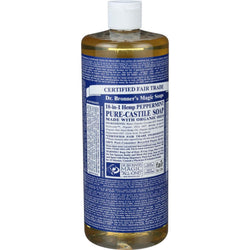 Castile Liquid Soap; Peppermint