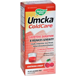 Nature's Way Umcka Coldcare Syrup Cherry - 4 Fl Oz