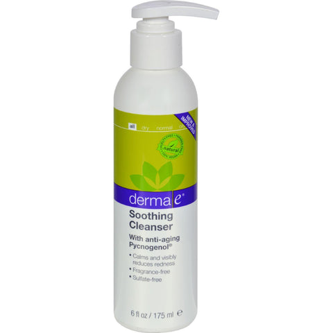 Derma E Soothing Cleanser With Pycnogenol - 6 Fl Oz