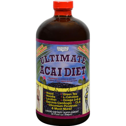 Only Natural Uitimate Acai Diet Liquid - 32 Fl Oz