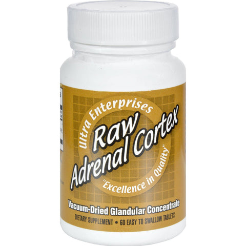 Ultra Glandulars Raw Adrenal Cortex - 60 Tablets